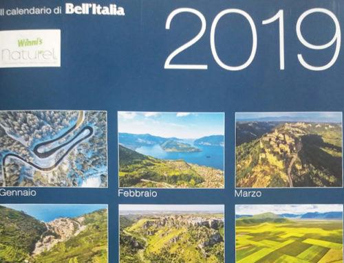 Marone sul Calendario 2019 della Rivista Bell'Italia