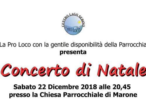 Concerto di Natale 22 Dicembre 2018