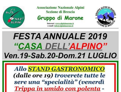 """Festa Annuale """"Casa dell'Alpino"""""""